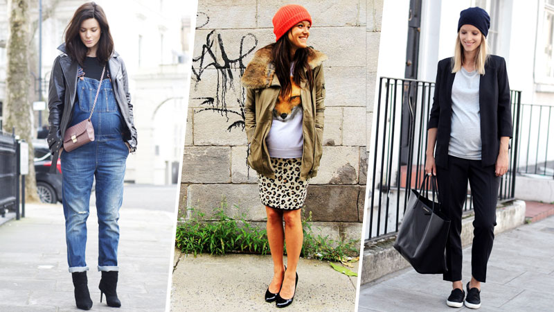 Preggy Chic LOOKBOOK - YouTube